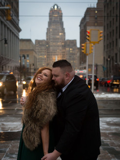 Downtown Buffalo NY Formal Engagement Co