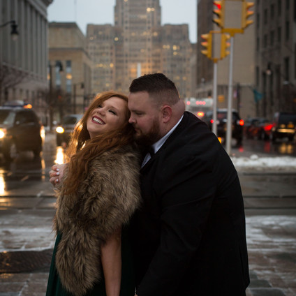 Downtown Buffalo - Engagement Session Hot Spots