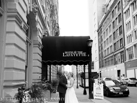 Nicky & Rob - Married at Hotel @ The Lafayette | Buffalo NY