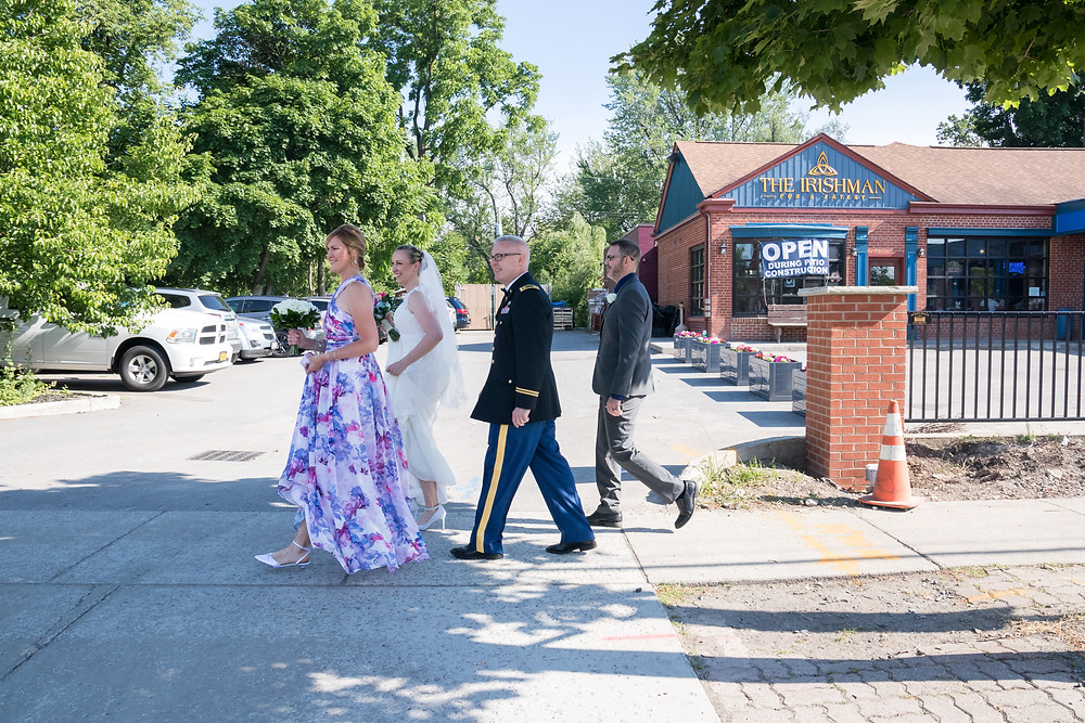 Irishman Pub Williamsville NY Wedding