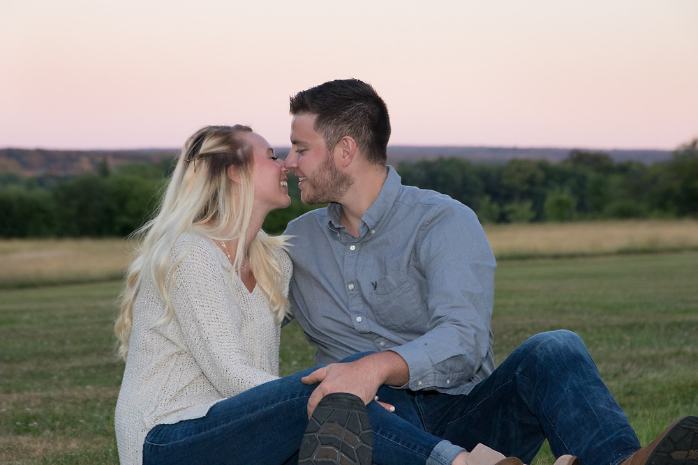 Knox Farm East Aurora NY Engagement Portrait Photography