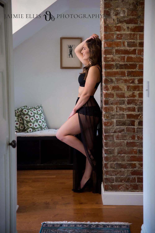Airbnb boudoir photo in Buffalo NY