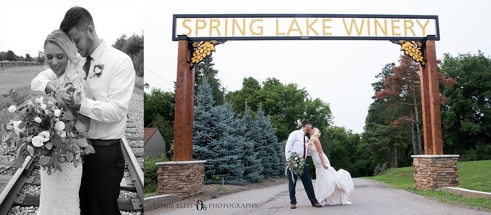 spring lake winery outdoor wedding venue in lockport ny