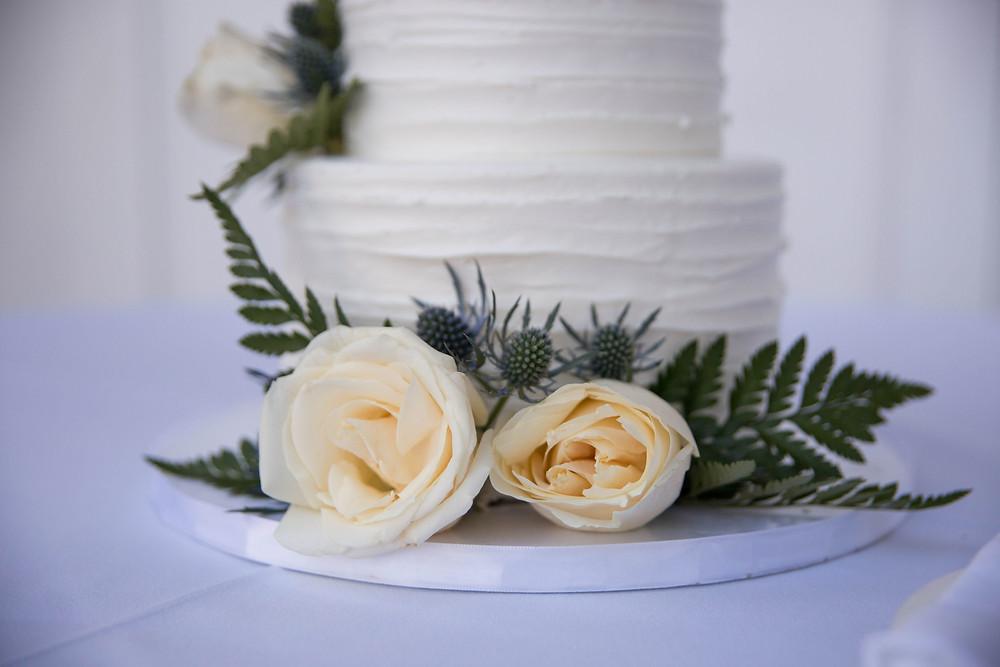 Muscoreils Fine Desserts wedding cake country club of buffalo