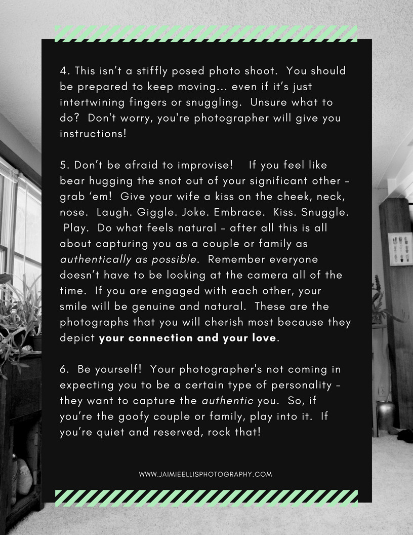 in home photography tips
