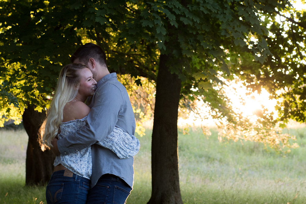 Knox Farm East Aurora NY Engagement Photography