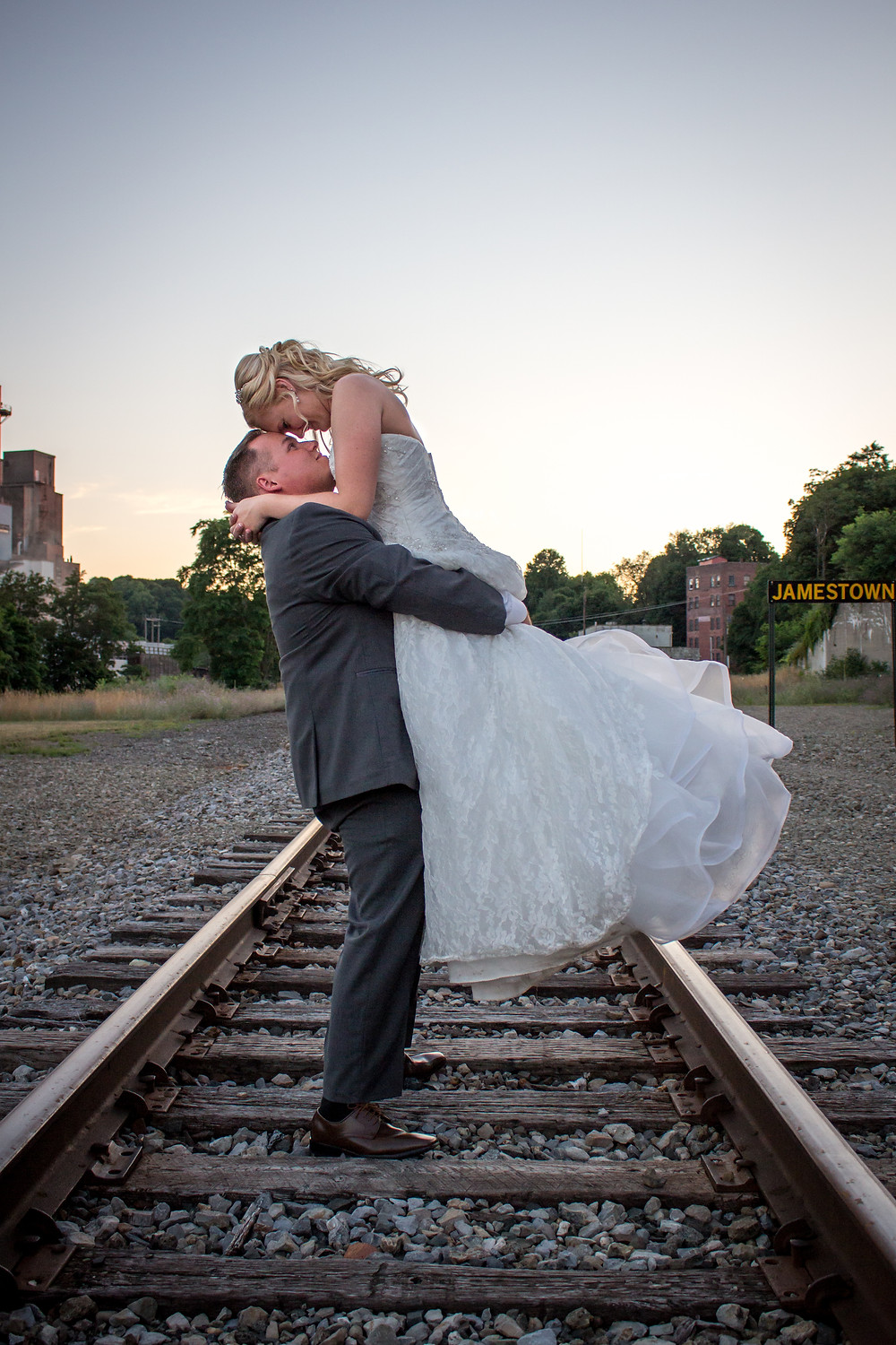 Jamestown NY wedding photography