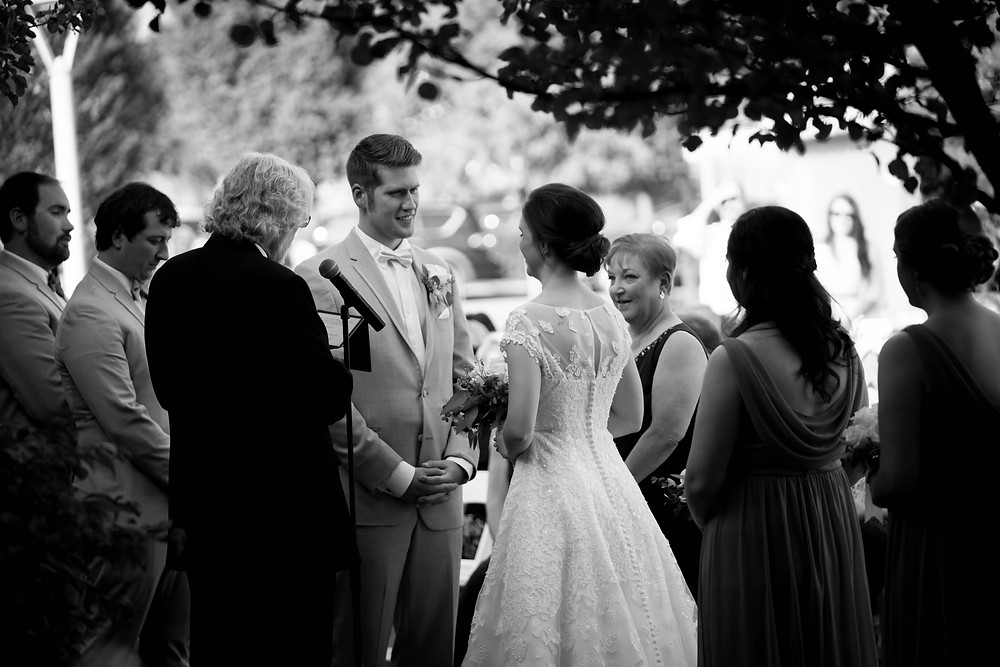 Larkinville Buffalo NY Larkin Wedding Ceremony Outdoor venue