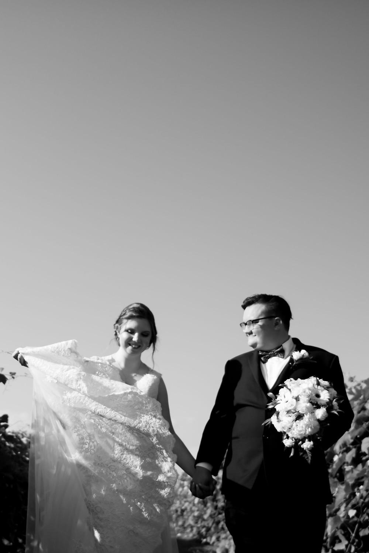 Vizcarra Vineyards Gasport NY intimate wedding elopement bridal portrait