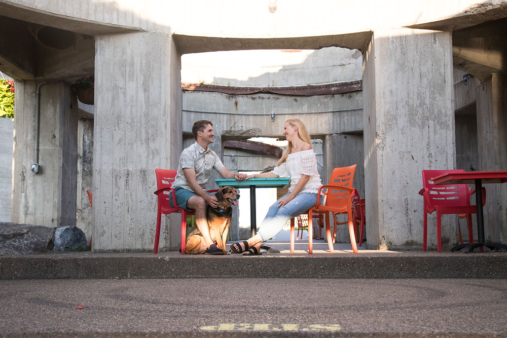 Buffalo Riverworks Engagement Photography