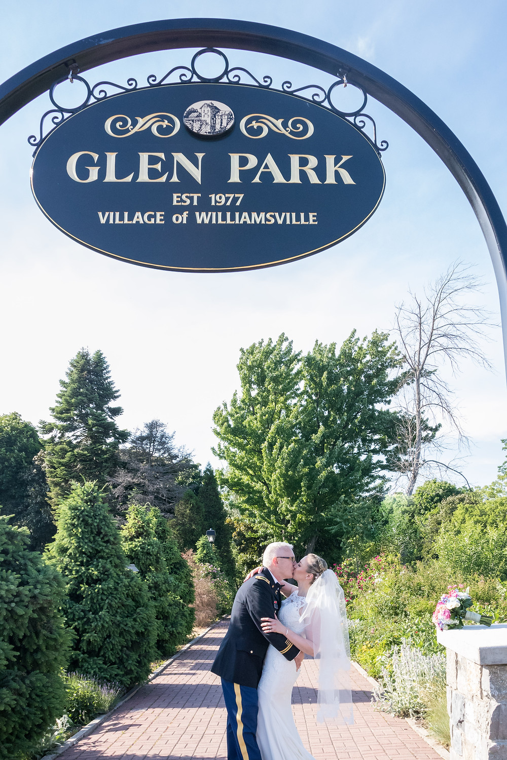 Glen Falls Park Williamsville Wedding