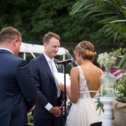 Kelsey + Joe's Finger Lakes Wedding | Heron Hill Winery