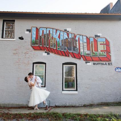 Molly + Ben's Larkinville Wedding Extravaganza! | Buffalo NY