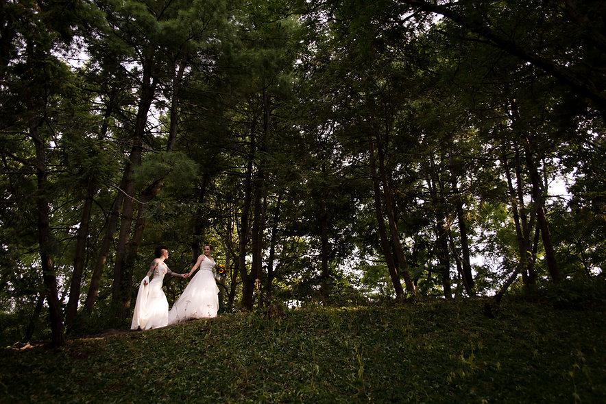 intimate backyard elopement_covid elope