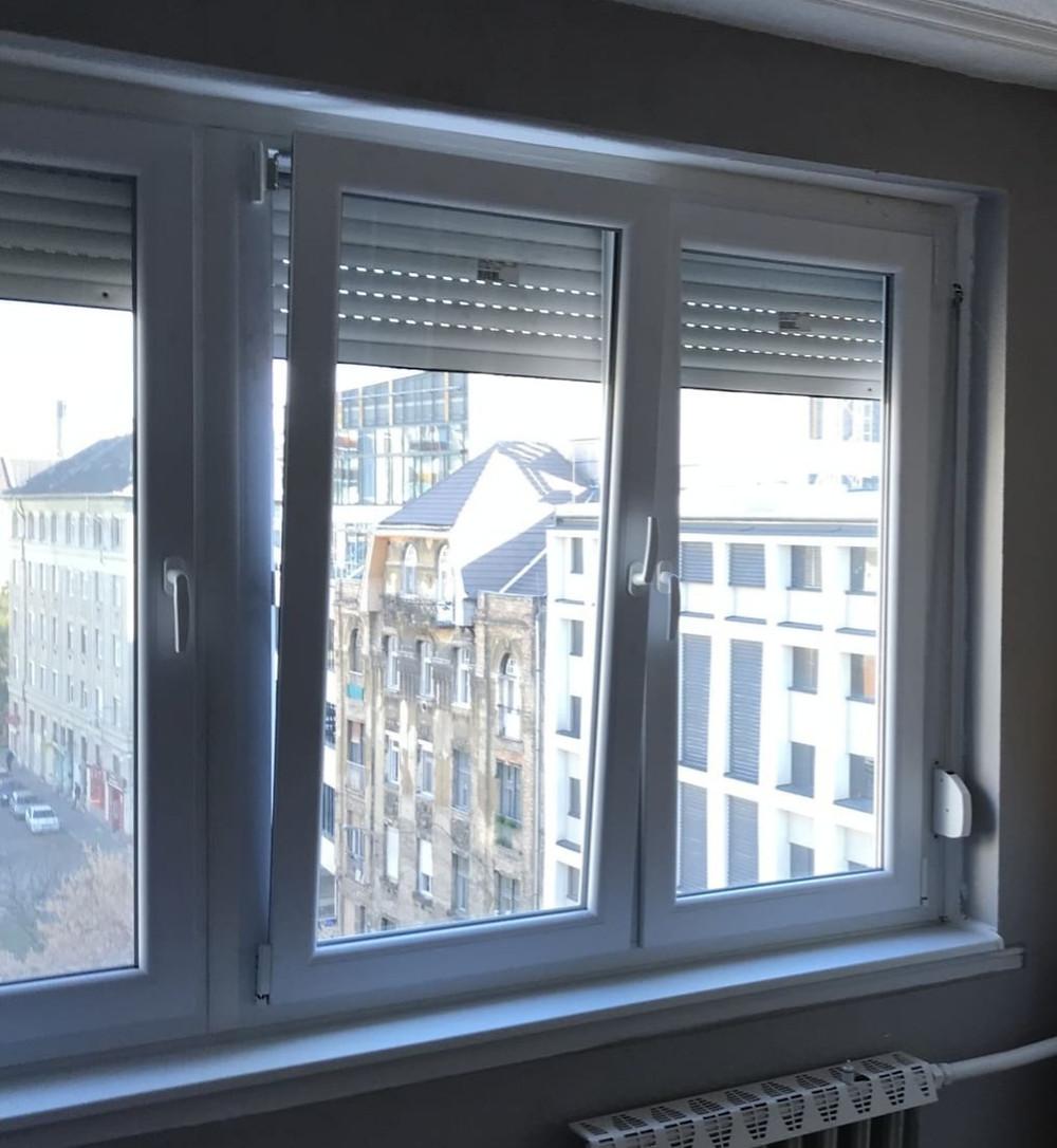 Panellakás ablakcsere redőnybeépítéssel - Budapest VIII. kerület - Csiziredőny