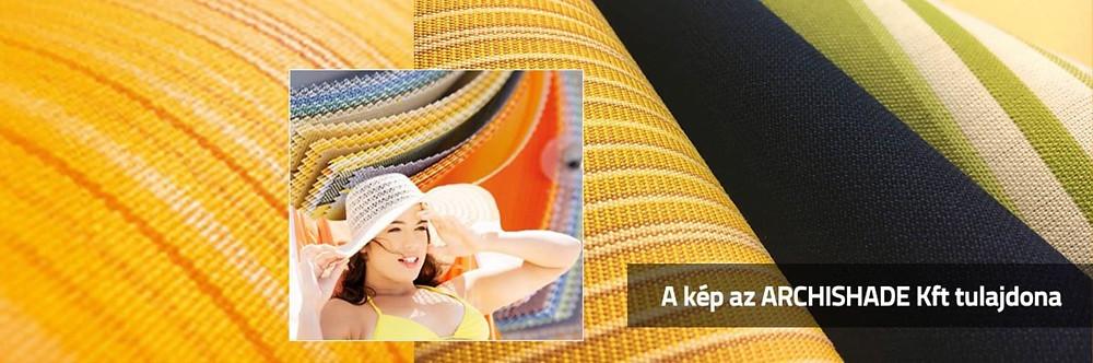 A napellenző textil lehetőleg 80-as uv-állóságú legyen
