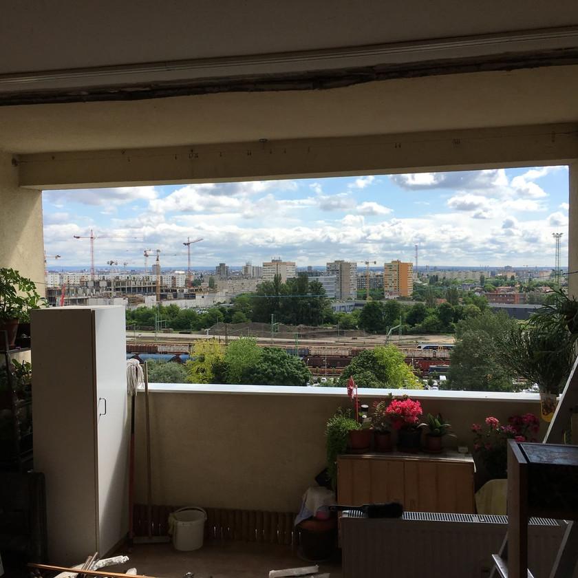 Budapest, XI. kerületi panellakás erkély teljes nyílászárócsere