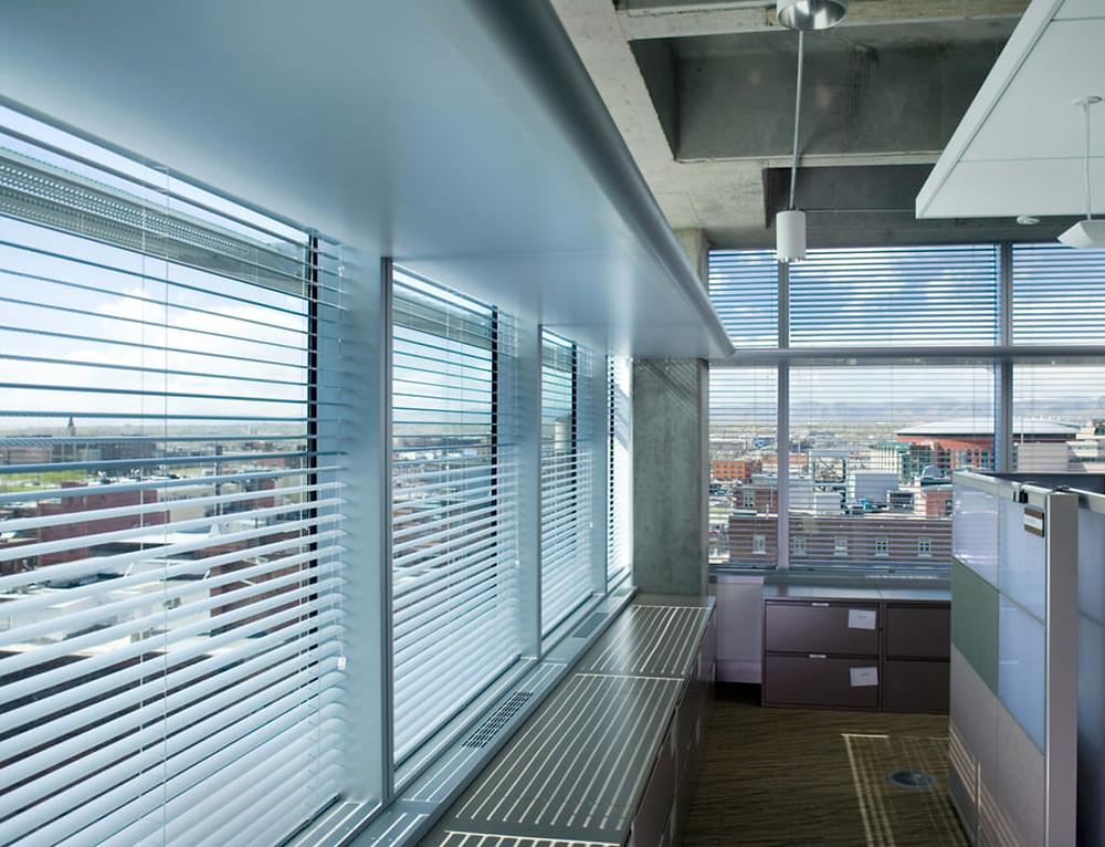 Reluxa irodaházakban - inspirációk egy témára - Csiziredőny