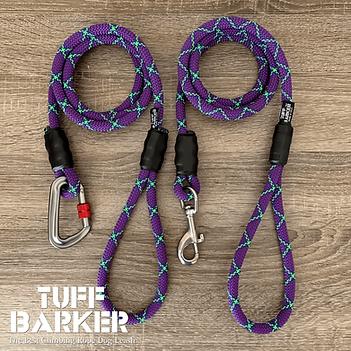 Climbing rope dog leashes