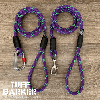 Climbing rope dog leashes