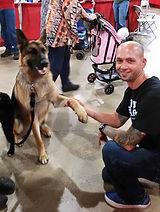 Jeff Rayburn owner of Tuff Barker Climbing Rope Dog Leashes