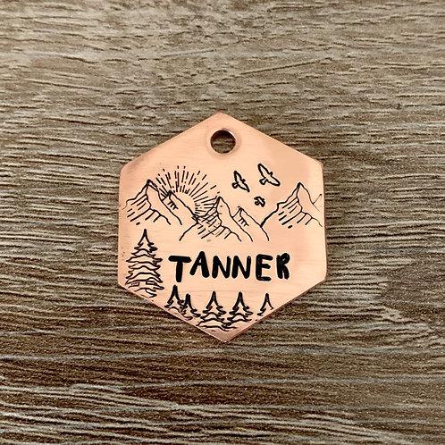 Custom Hand Stamped Pet ID Tags