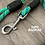 Helix DNA climbing rope dog leash standard clip