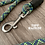 Maverick Moon climbing rope dog leash standard clip