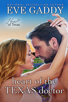 Cover of heart of the Texas doctor by Eve Gaddy