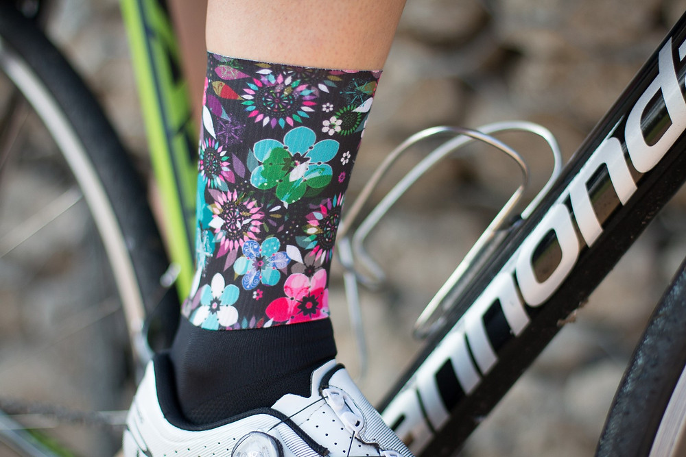 Dark Floral Women's Cycling Kit