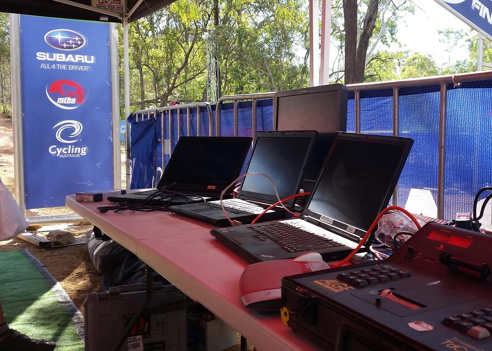 Timing: Oceania MTB Championships, Toowoomba