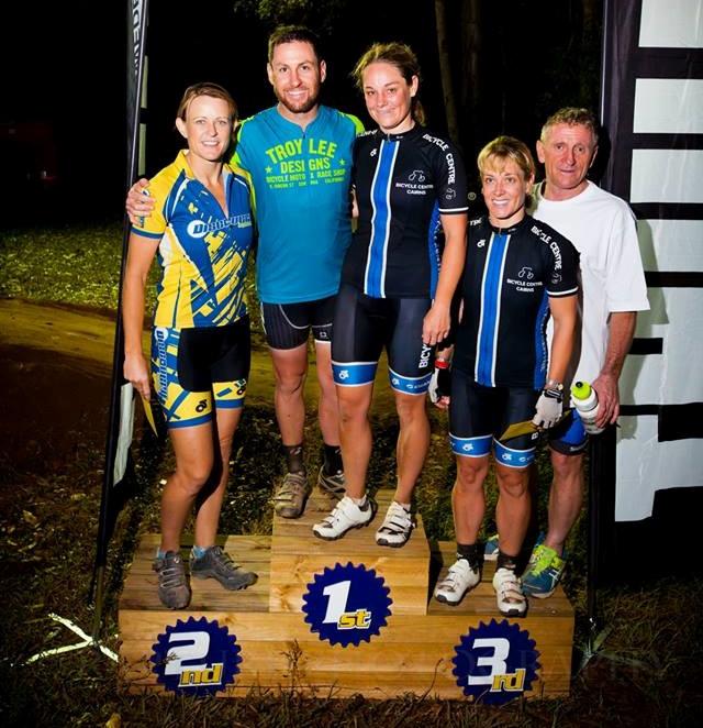 On the podium (again)