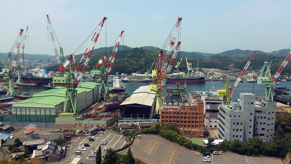 Ship-building in Imabari