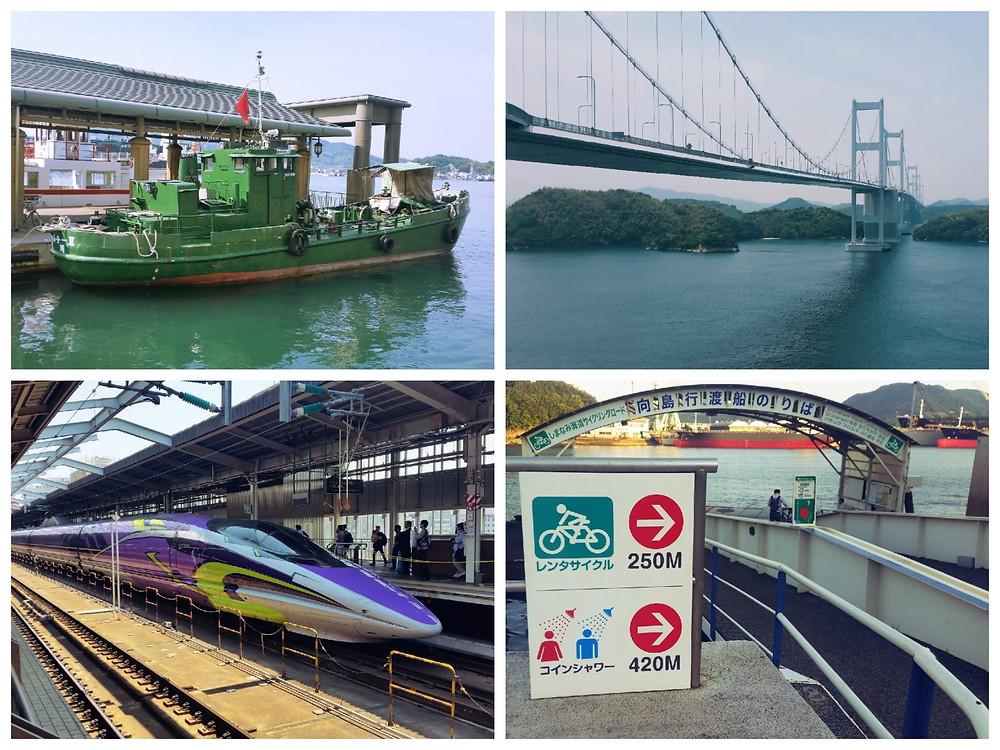 Trains, boats, bridges & bikes