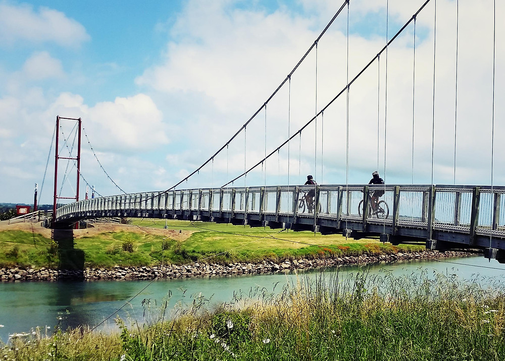 Bridge across to Dunes Trail