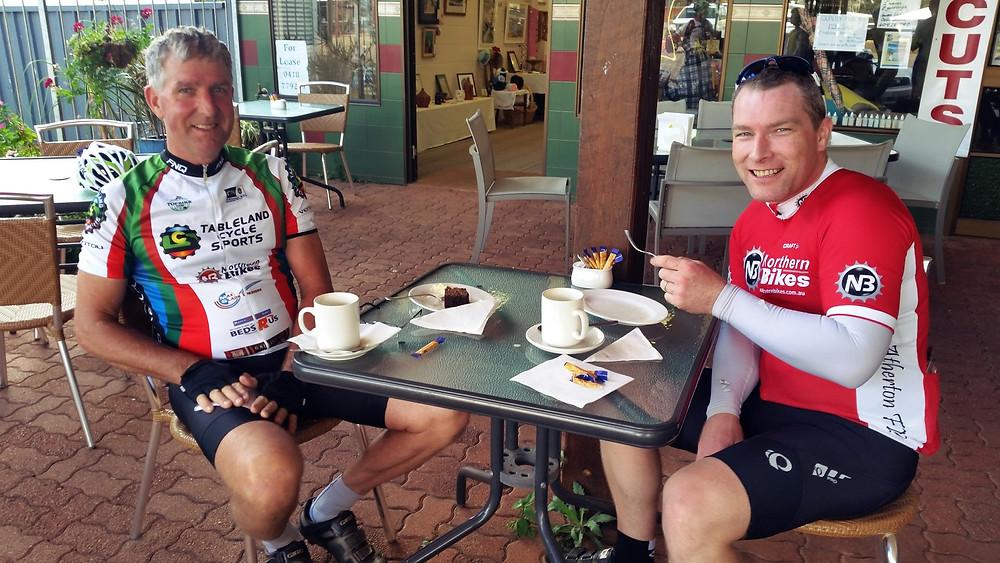 Mark & Rob enjoying Ravenshoe