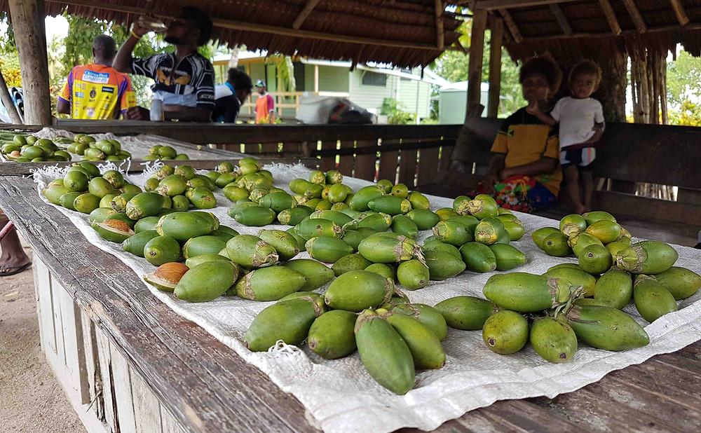 Roadside stall selling betel nut.