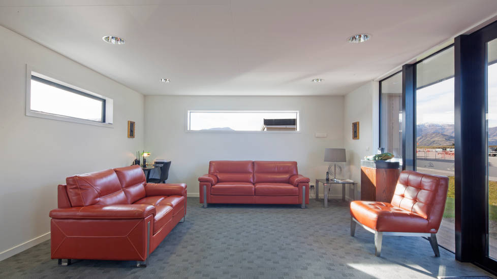 Slope - Commercial Airport Waiting Area