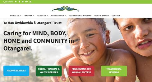 Te Hau Awhiowhio o Otangarei website development