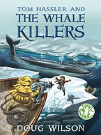 Tom Hassler and the Whale Killers book cover