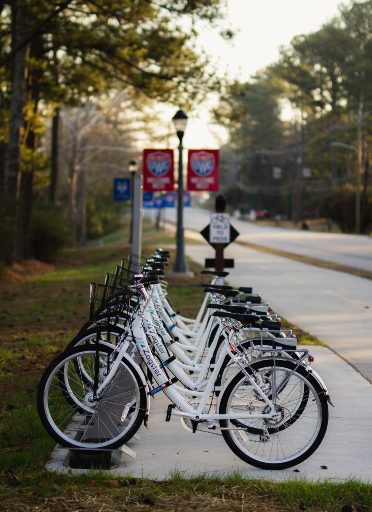 Bike rentals on the Greenbelt