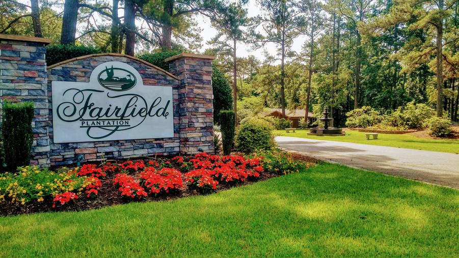Fairfield's Entrance
