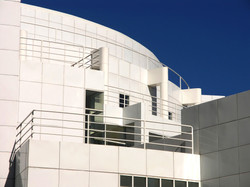 High Museum White Architectural Detail,
