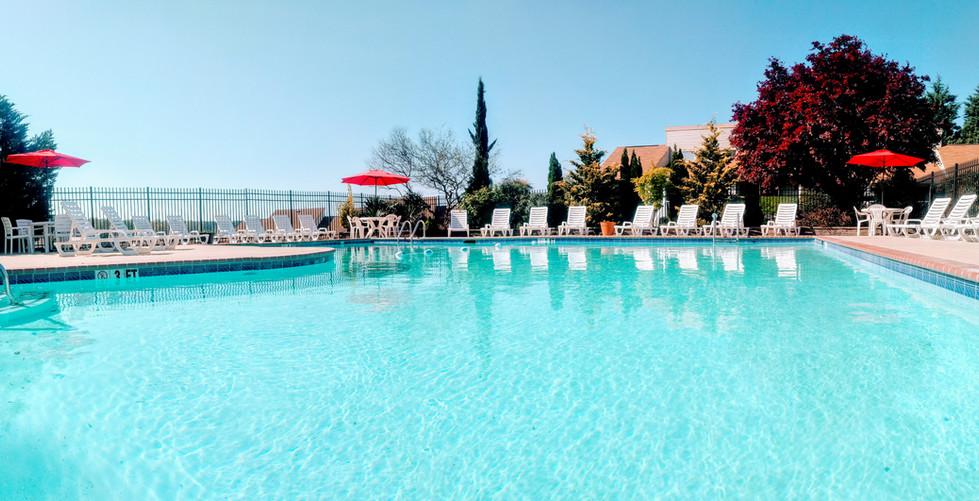 Resort pool by Tara II