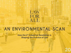How the 4th Industrial Revolution is Shaping the Practice of Law