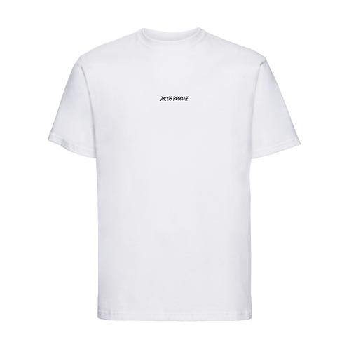 Jacob Browne White T-Shirt