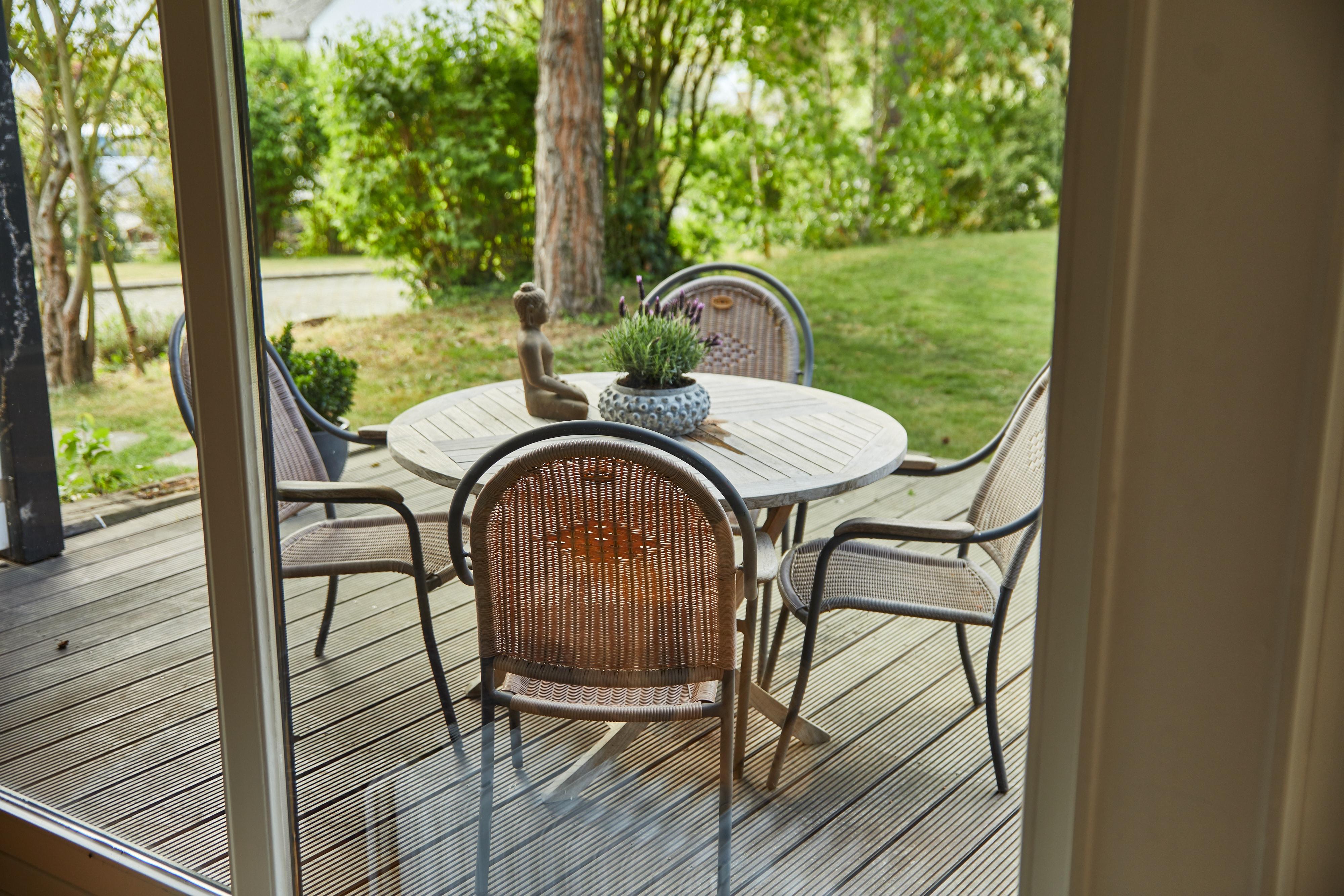 Sitzplatz Garten Terrasse