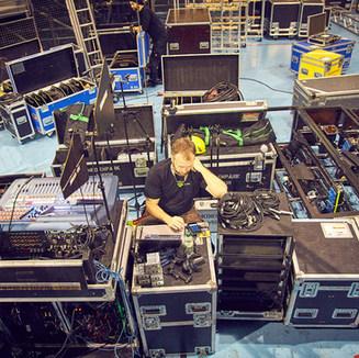 Backstage bei Yakari Musical