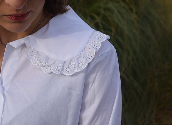 Chemise blanche - col sophistiqué