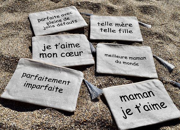 Trousse - inscription au choix